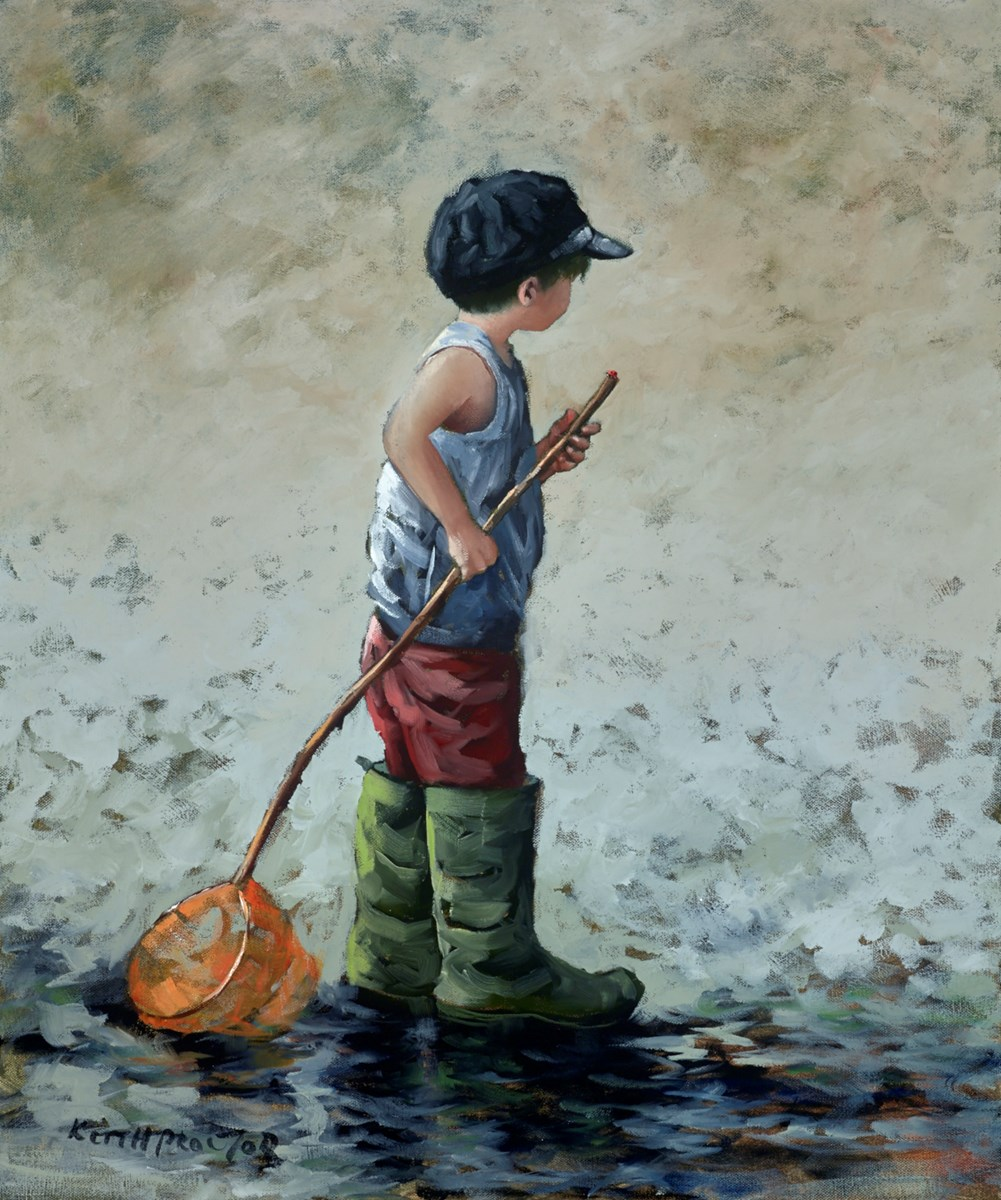 Ladybird by keith proctor -  sized 20x24 inches. Available from Whitewall Galleries